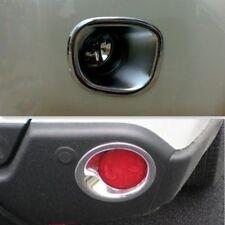 Chrome Front + Rear Fog Light lamp Bezel cover For Nissan X-Trail T31 2007- 2010