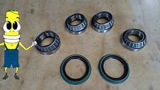 Front Wheel Bearing and Seal Set for Ford Full Size Bronco 1989-1994 RWD 4WD 4x4