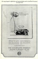 The Mac Cann COMP. NEW YORK * American ad. in the thirties