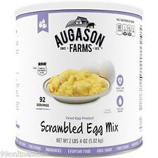 Augason Farms Dried Powdered Scrambled Egg Emergency Disaster Survival Camp Food