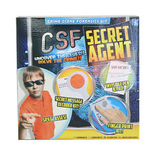 CSF Secret Agent Spy Kit Boys Detective Gadget Mission Set Boys Girls Kids Fun