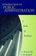 Introduction to Public Administration : A Book of Readings by E. W. Russell...