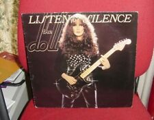THE DOLL LISTEN TO THE SILENCE Beggars Banquet BEGA 12 LP UK 1979 NEW WAVE