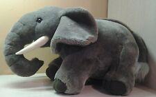 """Large 24"""" Gray Elephant Plush stuffed animal Toy"""