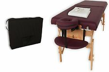 NEW Ironman 30-Inch Astoria Massage Table with Heating Pad and Carry Bag Therapy