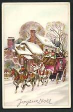 Joyeux Noël - cartolina di origina francese - scriita al verso - anni 1910/1920