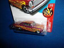 2017 Hot Wheels Super Treasure Hunt 63 Chevy II with Karkeeper