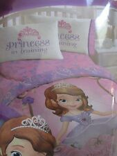 "Disney Princess Sofia the First Microfiber Twin Comforter 64""x86"" NEW"