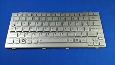 New for Toshiba Satellite NB200 NB205 UK Keyboard Silver PK130811A04