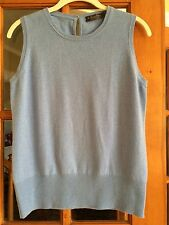 Women's Brook's Brothers Blue Cashmere Sweater Size Large NWOT
