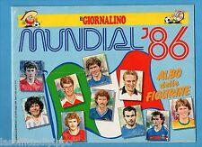 ALBUM - MUNDIAL '86 - IL GIORNALINO - VUOTO / EMPTY - MOLTO BELLO