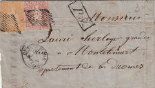 Lettre Suisse Chaux de Fonds 15&20RP Streubel Cover Switzerland