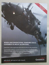 3/2011 PUB GOODRICH MILITARY HELICOPTER FORCES CSAR ORIGINAL AD