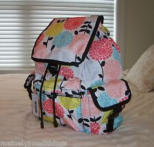 NWT LeSportsac 7839 VOYAGER Backpack GARDEN MUM 7839 D563