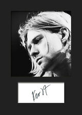 KURT COBAIN #2 Signed Photo Print A5 Mounted Photo Print - FREE DELIVERY