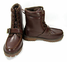 Beverly Hills Polo Club Shoes J-Bees Federal Brown Boots Size 8 EUR 41