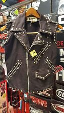 Vintage Boy of London Vivienne Westwood sedenteries rare studded punk vest