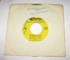 "Imperials of Toledo 7"" 45 HEAR POLKA My Melody of Love USANA Signed Autographed"
