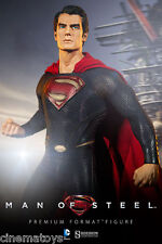Man of Steel Movie Superman Henry Cavill Premium Format Figure Sideshow Statue