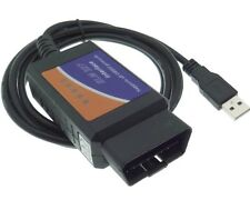 USB CAN Bus OBD 2 Diagnose Interface Fehler Software Gerät ELM-327 Auto PKW KFZ
