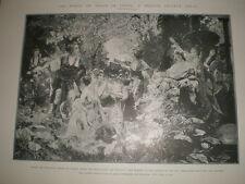 When the war drum throbs no longer Paul Quisson peace in Japan 1905 print Ref L