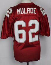 MULROE #62 NEW LENNOX NLYFA AMERICAN FOOTBALL JERSEY MENS XL RAWLINGS