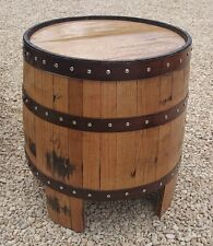 "Recycled Solid Oak Whisky Barrel ""NESSIE"" Garden 