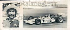 1974 Auto Racer Mike Mosley & His Drag Racer Press Photo