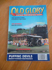 OLD GLORY MAG #20 RUSTON STORY FODEN LORRIES PUFFING DEVILS ROAD STEAMERS