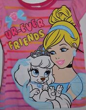 2T Disney Princess Palace Pets Fur-Ever Friends Cinderella Summer T-Shirt