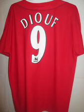 "Liverpool 2002-2003 Diouf #9 Home Football Shirt Size Medium 38""-40"" /5681"