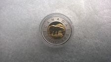 Canada 2 Dollars 2016 PP/PROOF 1 Oz. 9995 Platin Gold Plated Polar Bear