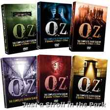 Oz: Complete TV Series Seasons 1 2 3 4 5 6 DVD Boxed Sets + Bonus Features NEW!