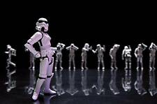 Old Photo. Toy Star Wars Stormtrooper Action Figures - Female
