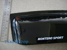 4 DOOR Visor Rain WEATHER GUARD FOR MITSUBISHI Montero/Pajero Sport V.2
