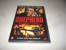 THE SHEPHERD BORDER PATROL DVD STARRING JEAN - CLAUDE VAN DAMME NEW & SEALED