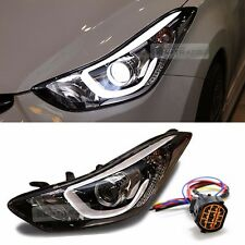 OEM Projection DRL LED Head Light Lamp Wire Jack LH for HYUNDAI 11-16 Elantra MD