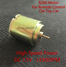 High Speed Power DC 7.5v 5v Small R260 Motor for RC Remote Control Car Toy Car