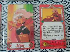 CLAMP MAGIC KIGHT RAYEARTH MKR LUCHADORAS DE LEYENDA RARE CARD FURUTA MORINAGA