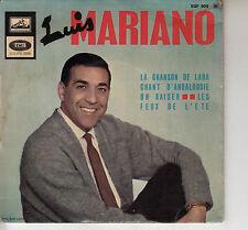 45TRS VINYL 7''/ FRENCH EP LUIS MARIANO / LA CHANSON DE LARA + 3