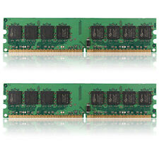2GB (2x1GB) DDR2-533 PC2-4200 Non-ECC Desktop PC DIMM Memory RAM 240 pins