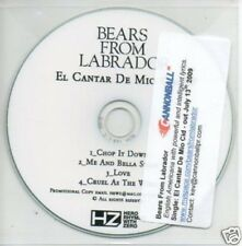 (496Q) Bears From Labrador, El Cantar De Mio Cid- DJ CD