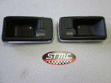 77 78 79 80 81 FIREBIRD TRANS AM PAIR OF INNER DOOR HANDLE BEZELS ESCUTCHEONS