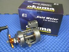 Okuma Cold Water Left Hand Trolling Reel with Line Counter CW 203DLX