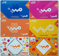 China Used Phone Reload Cards - 6 张 WO 系列
