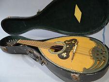 Vintage 1962 Nagoya Suzuki Bowlback Mandolin No206  with vintage case