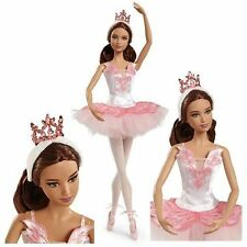 Ballet Wishes Barbie Aricancan Amerrican Doll Collector Pink Label Ballerina New