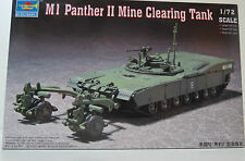 Panzer M1 Panther II Mine Clearing Tank Trumpeter 007280 NEU OVP (FS)