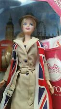 United Kingdom Passport Doll of the World DOTW Barbie  Collector 2012 New UK