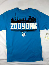 Zoo York NYC skate short sleeve t shirt men's blue size MEDIUM